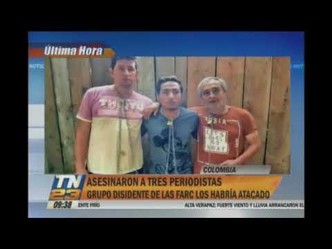 RADIO REYNA ECUADOR: LOS 3 PERIODISTAS DE DIARIO EL COMERCIO FUERON ASESINADOS POR LA NARCOGUERRILLA
