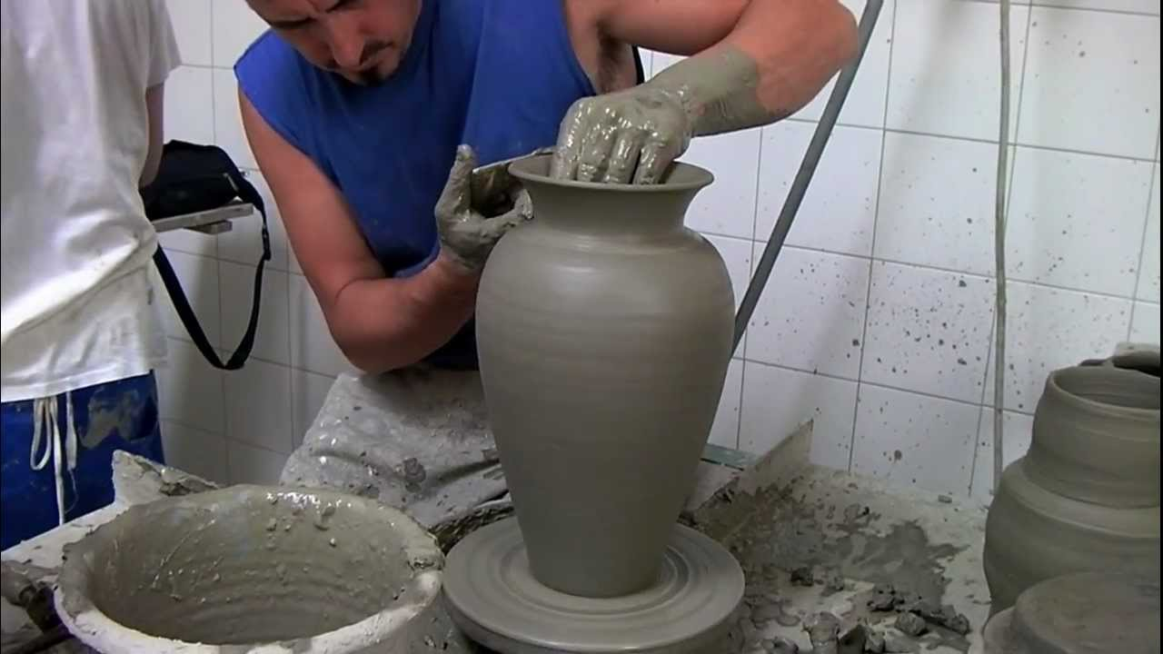 Vaso fatto al tornio youtube - Tornio per legno fatto in casa ...