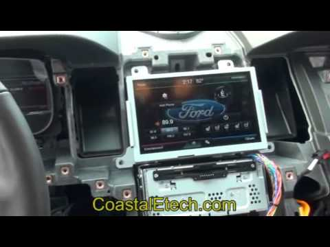 Taurus Ford Mytouch Installation Youtube