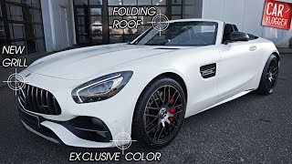 INSIDE the NEW Mercedes-AMG GT C Roadster EDITION 50 2018 | Interior Exterior DETAILS w/ REVS