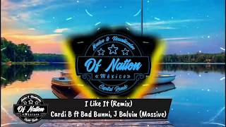 I like it (Remix) - Cardi B ft Bad Bunny, J Balvin (Massive D Latin)