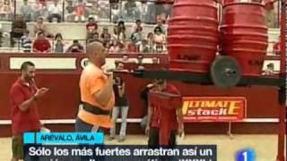Liga Nacional de Fuerza Arévalo 2010 en TVE1