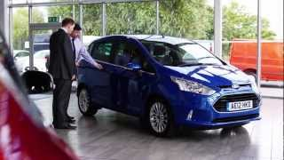 The New Ford B-Max from Gates Ford