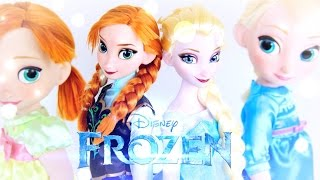 ELSA - ANNA - Doll Review: New Disney Frozen Dolls