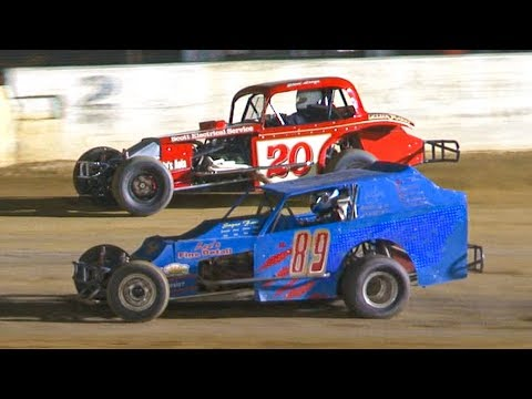 The Vintage Modified Feature at Stateline Speedway (Busti, NY) on Saturday, August 31st, 2019! Results: David Myers, Andy Imbaught, Steve Longo, Rick ... - dirt track racing video image