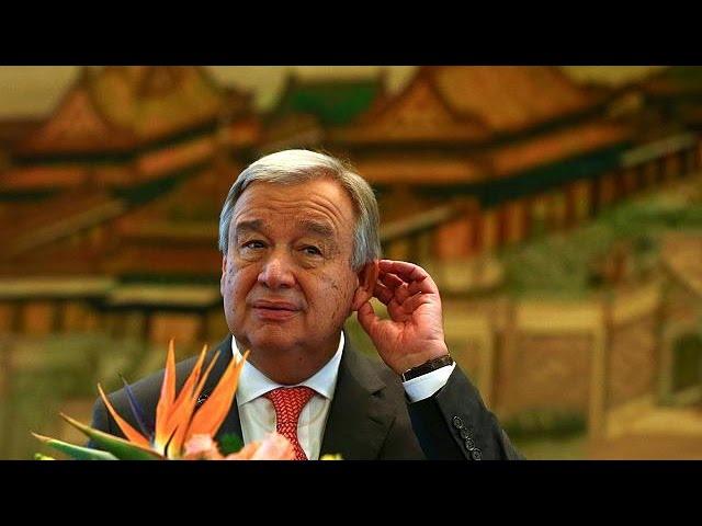 Антониу Гутерреш посетил КНР за месяц до вступления в должность