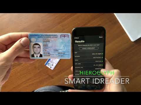Smart IDReader for Armenia IDs – Mobile ID, credit card, MRZ, passport, driver's license scanner