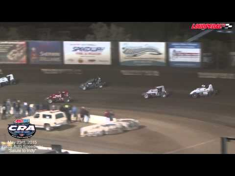 AMSOIL USAC/CRA Sprint Cars at Perris Auto Speedway 5-23-15