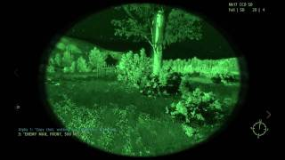 ARMA 2 Operation Arrowhead - gameplay pc  ''Laser Show''