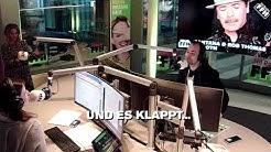 """Telefonstörung: Julia & Daniel spielen """"FFH Wünsch dir was"""" per Handy"""
