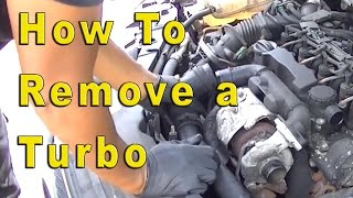 Ford Focus 1.6 TDCI Turbo Removal