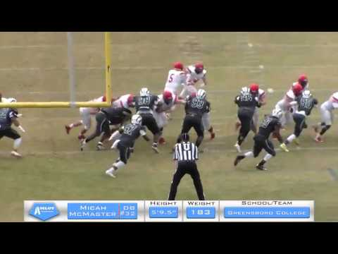Micah McMaster Full Game vs Huntingdon College
