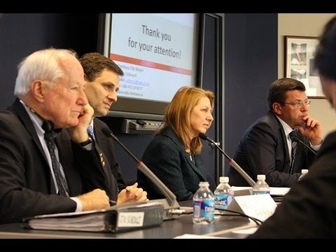 IRI Speakers Series: Democratic Governance in Eurasia - National Challenges and Municipal Successes