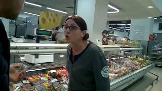Фото крысы в супермаркете дикие продавцы  жесть