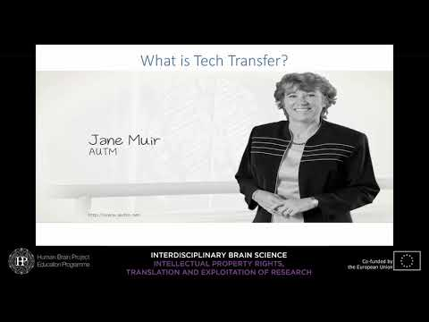 Lecture 6 - Part 1: Nimrodi, Offen \u0026 Gazit - Transferring Innovation From Academy To (...)