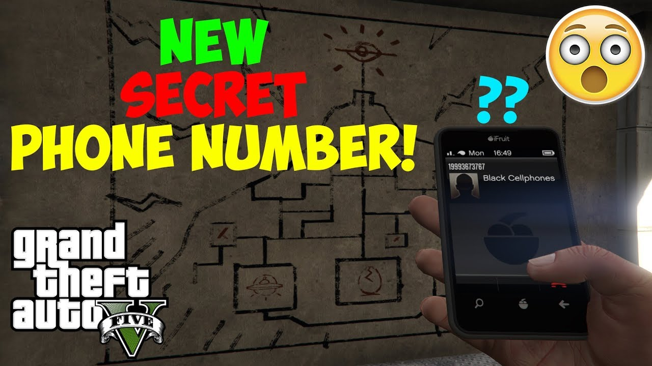 GTA 5 - What Happens if you Call This NEW SECRET Phone Number