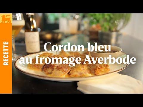 Cordon bleu au fromage Averbode et sauce à la bière