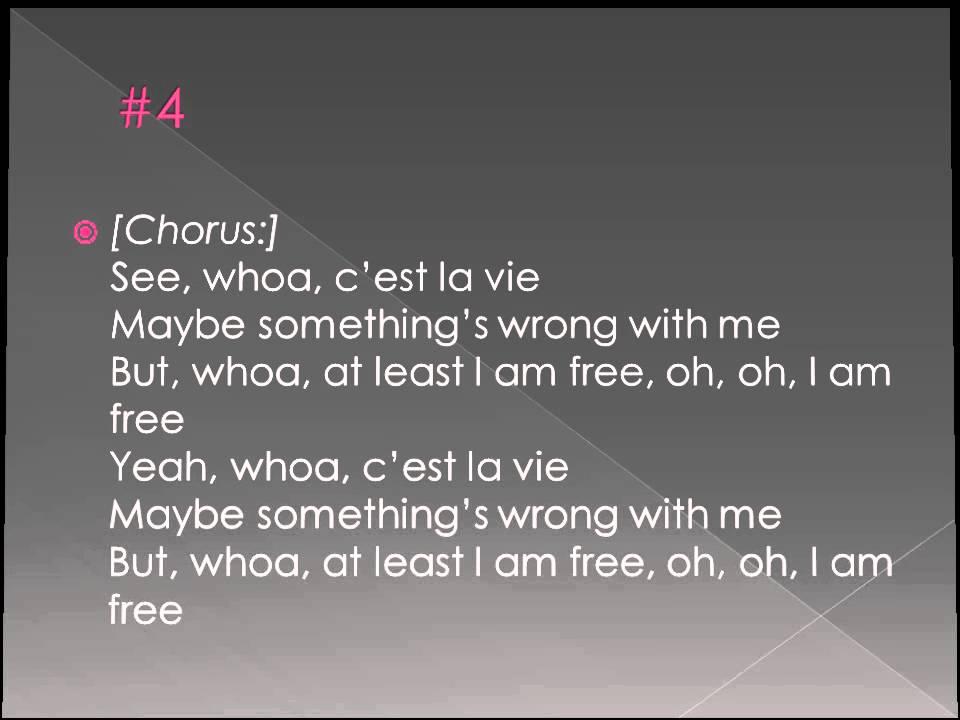 Lyric i am free lyrics : Rudimental - Free feat. Emeli Sandé. (Lyrics) - YouTube