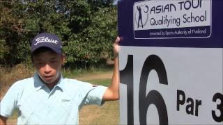 Asian Tour Qualifying School 2014 - Han Ren of China (Tuesday Preview)