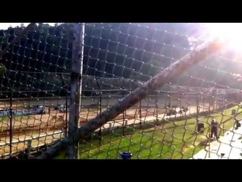 Tyler County Speedway 6/8/13 Mini Wedge Feature GJ23