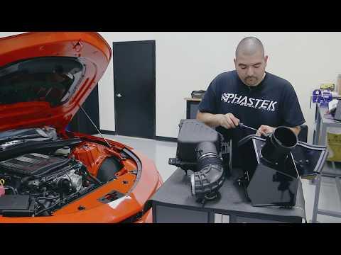 Roto-Fab Camaro ZL1 Intake Install - Phastek Performance