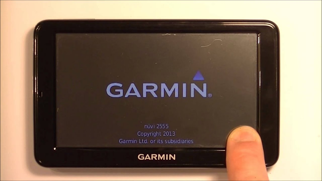 How To Restore / Reset a Garmin Nuvi gps to Factory settings