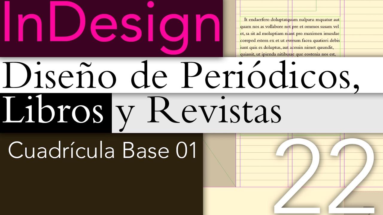 Tutorial InDesign Cuadrícula Base - YouTube