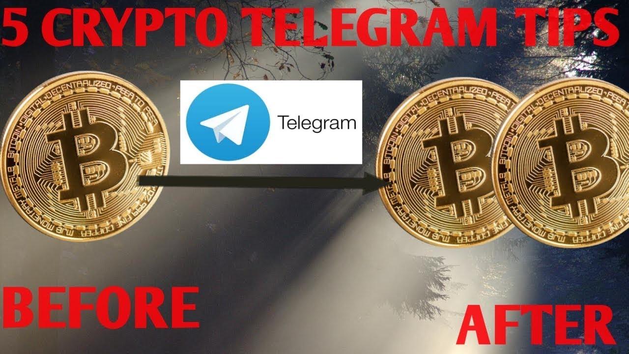 5 CRYPTO TELEGRAM GROUP TIPS TO DOUBLE BITCOIN