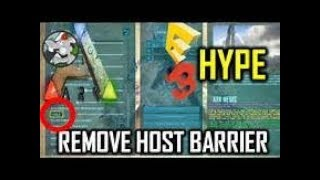 ARK how to get out of the barrier (Admin Command/Console)