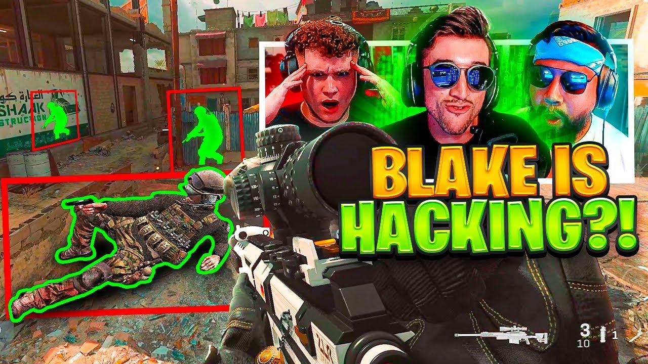Blake got REPORTED FOR HACKING in Modern Warfare?! - Team Summertime