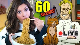 SO MANY CATS, SO MANY NOODLES (which to eat?)