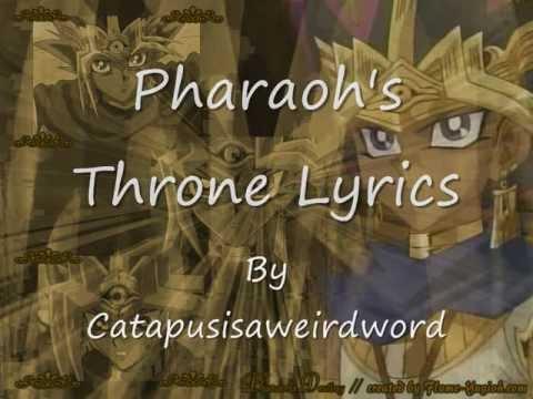 Pharaoh's Throne Lyrics.