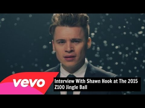 Interview with Shawn Hook at the 2015 Z100 Jingle Ball