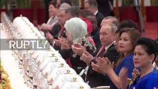 China: Xi Jinping greets world leaders at Belt and Road Forum banquet