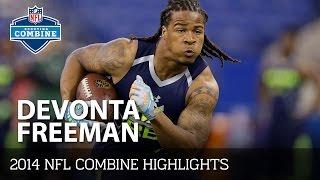 Devonta Freeman (Florida State, RB) | 2014 NFL Combine Highlights