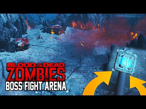 BLOOD OF THE DEAD FINAL BOSS FIGHT ARENA FOUND! (Black Ops 4 Zombies)