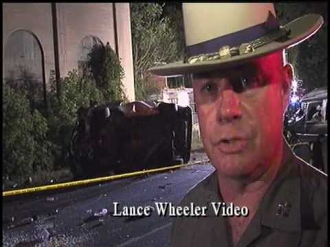 Runaway Teen Causes Spectacular Accident- Lance Wheeler Video