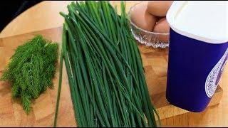 салат из зеленого лука с яйцом рецепт от  Dovna Enterprises