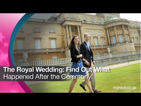 The Royal Wedding: What Happened After the Ceremony!