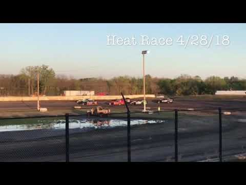 Heat Race 4/28/18 Caney Valley Speedway