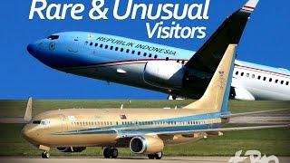 London Stansted Airport - 9M-III Sultan of Johor Indonesia Republik A-001 AirZena Rare Planespotting