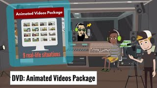 Animierte Videos-Paket, DVD - DJ DELF - DVD-Vorschau mit video-clips