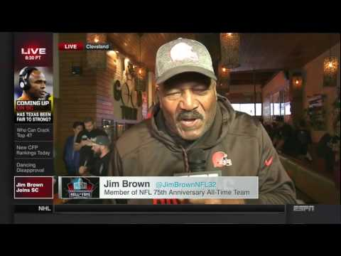 """Jim Brown on Why He's """"Pulling for""""' Trump"""