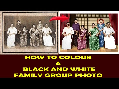 How To Color Black And White In Oshop