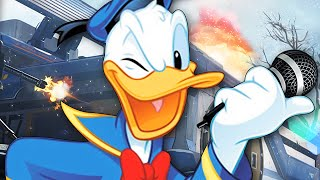AMAZING Donald Duck RAP BATTLE on Advanced Warfare! - (Voice Trolling)