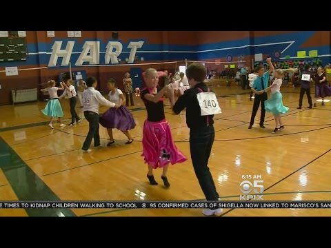 Pleasanton Hart Middle Schoolers Swing Dance Their Hearts Out