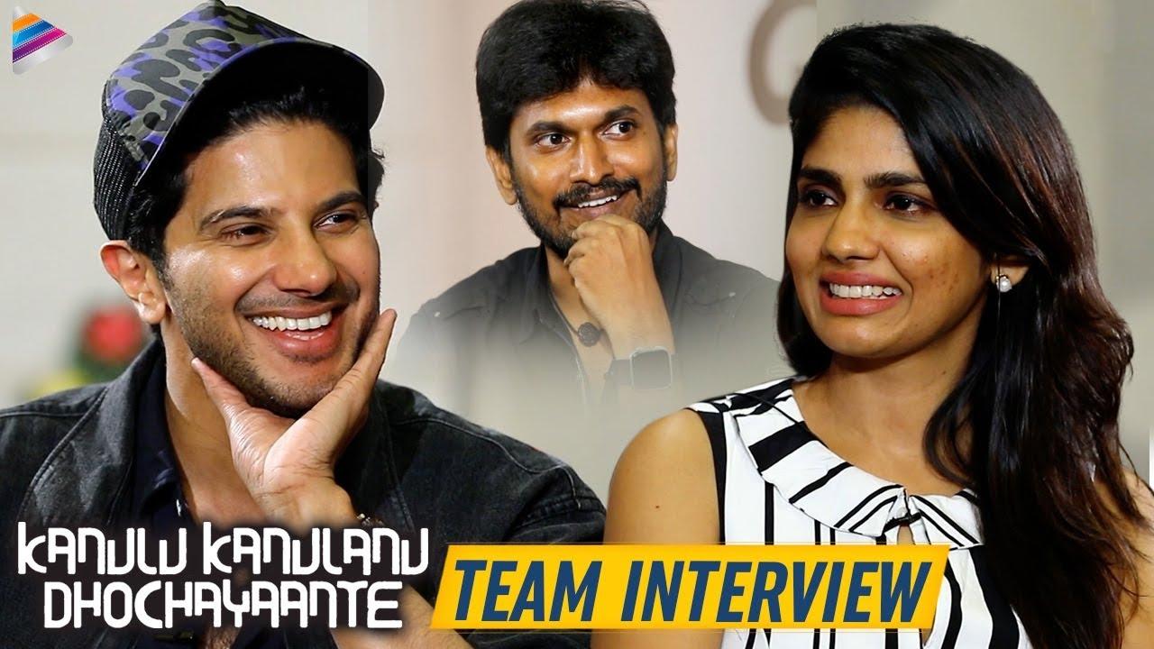 Download Kanulu Kanulanu Dhochaayante Movie Team Interview   Dulquer Salmaan   Ritu Varma  Niranjani Ahathian