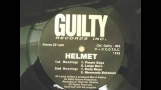 AUBREY-MAX BRENNAN---HELMET PURPLE EDGE 1995