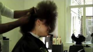 Angelique's Natural Hair Story & Haircut