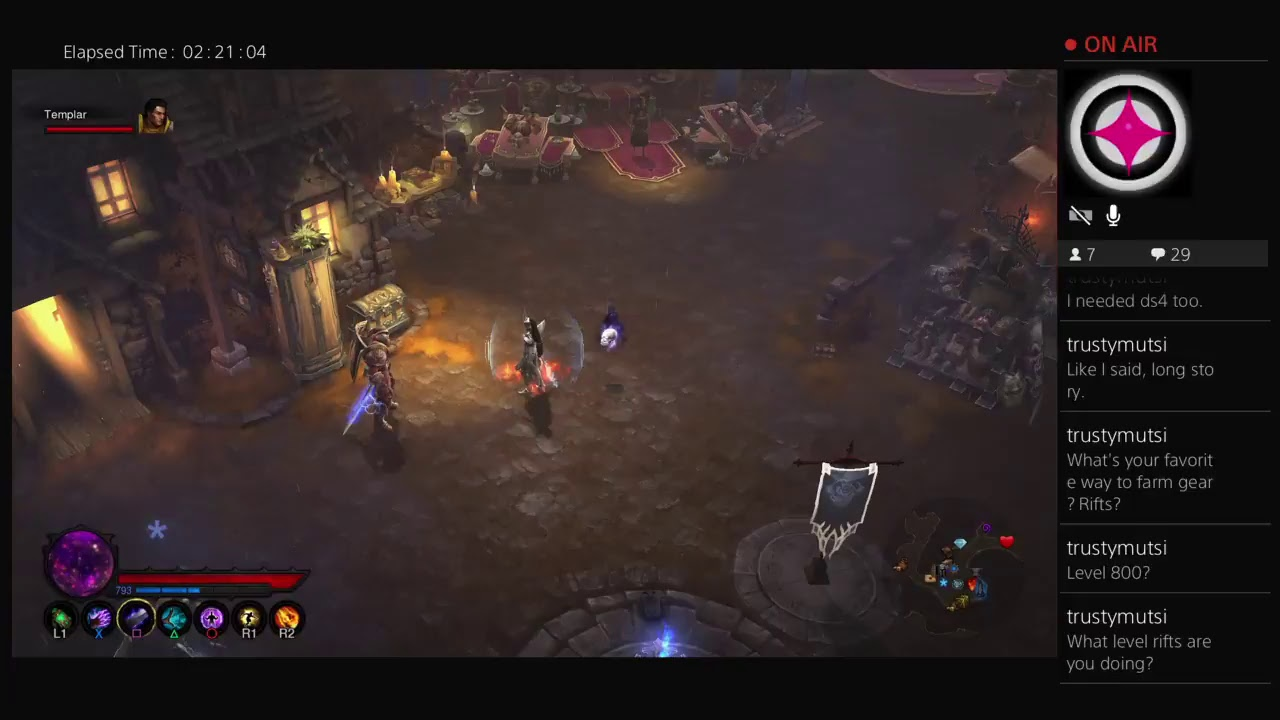 Diablo 3 on PS4 - COUNTDOWN TO FIRST CONSOLE LADDER SEASON! - YouTube